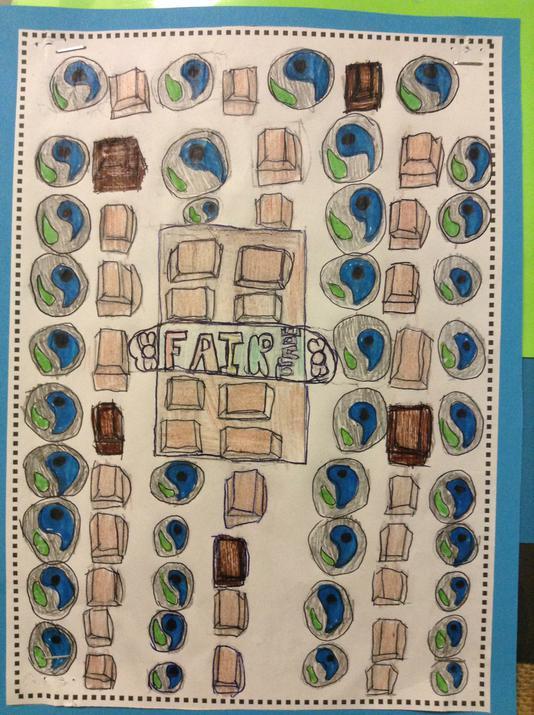 Photo of fairtrade wrapper design