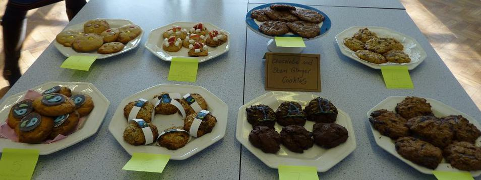 Photo of biscuits and cakes
