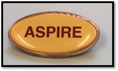 Our Aspire Badge