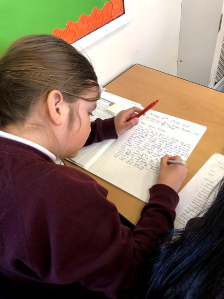 Writing in role as Sarah Forbes Bonetta