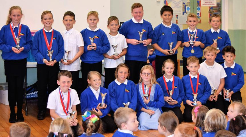 '5 OR MORE DIFFERENT SPORTS' AWARD WINNERS