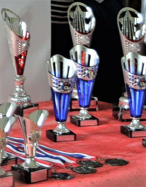 THE TROPHIES!