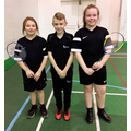 Sports Leader James with Abriella and Ebony