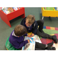 Sharing books in the Children's Library