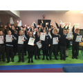 Well done to the 41 children who took part!