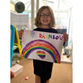 A super rainbow