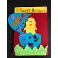 Amelia's fantastic Easter Card