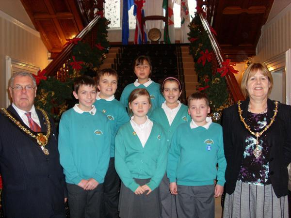 School Council Visit to the Mansion House December