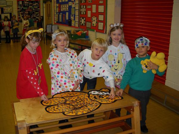 Coins on Pudsey