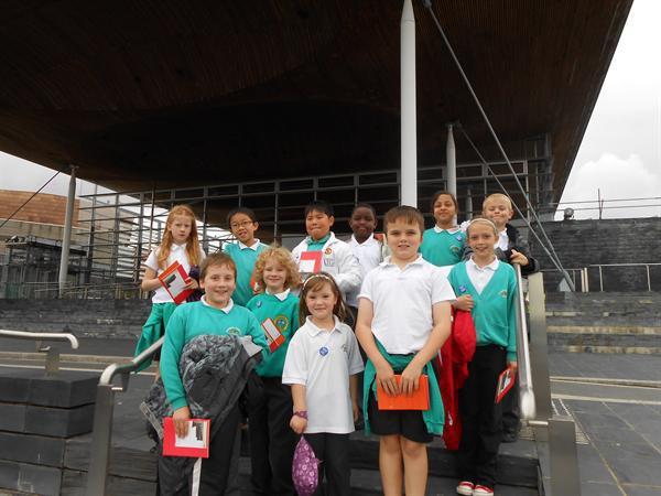 2011 -12 School Council visit The Senedd