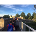 Evening Walk around Castle Walls