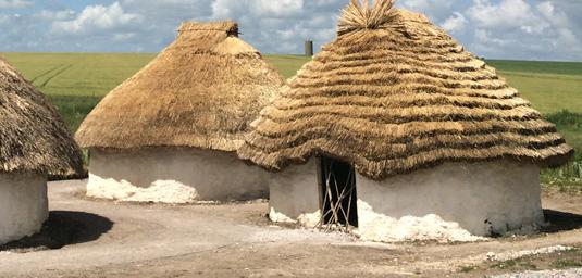 Stone age dwelling