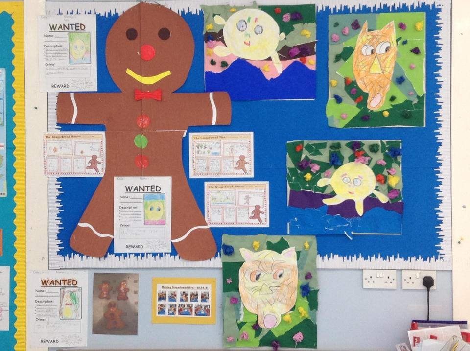 Our work on The Gingerbread Man and The Runaway Chapatti