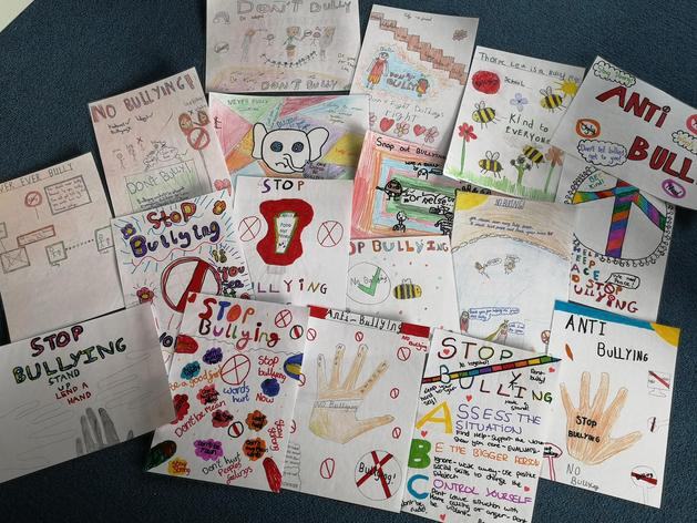 What an amazing selection of posters designed by the chidlren at Thorpe Lea!