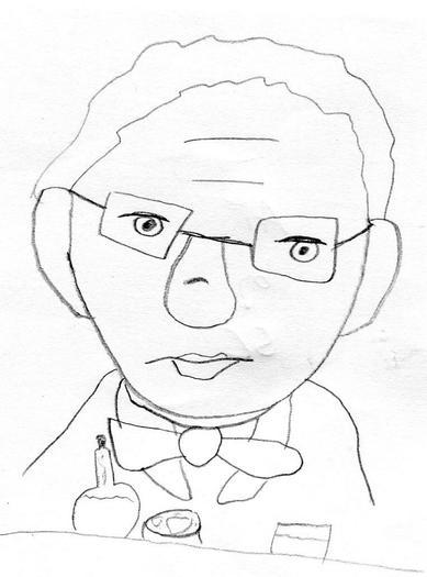 Sketch by Sonnie Crossman