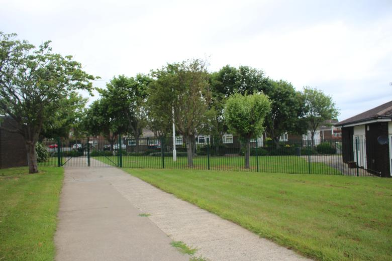 Gate Near School Bungalow