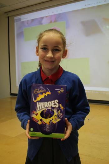1st Place Easter Egg Competition - Year 3