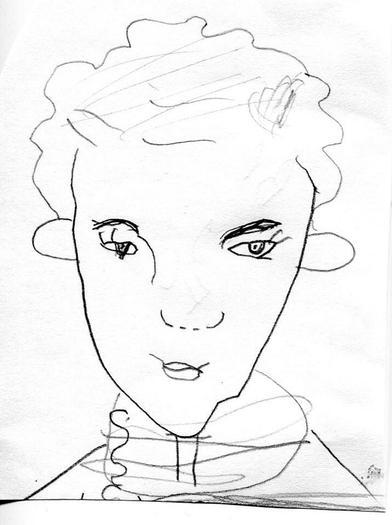 Sketch by Freja Cooke