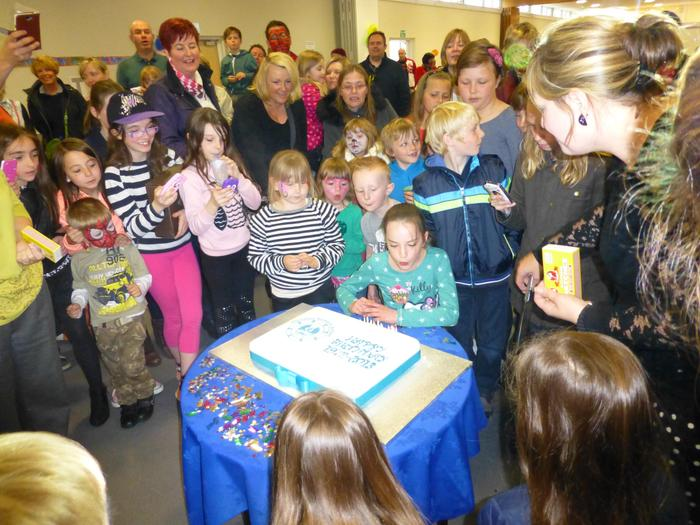 The school celebrates being 40 year old!