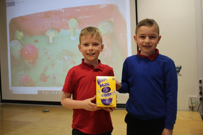 2nd Place Easter Egg Competition - Year 3