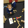 Using 2D shapes to create a firework rocket!