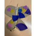 Shayla's butterfly character