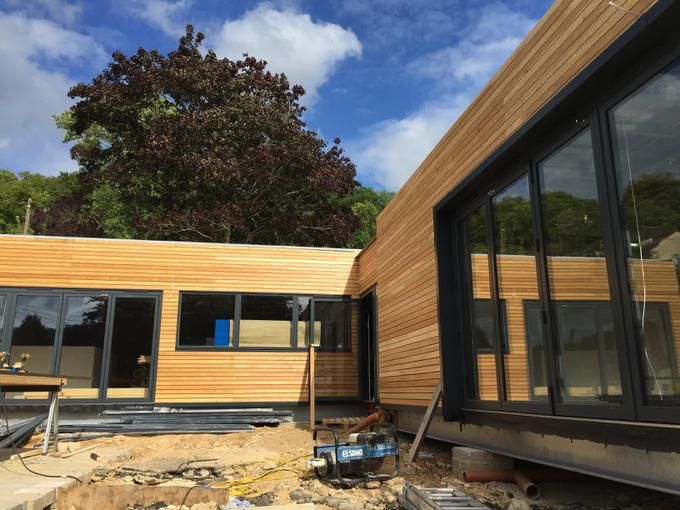 Nursery Fledglings and Kestrels with cladding
