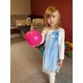 Balancing balloons in PE