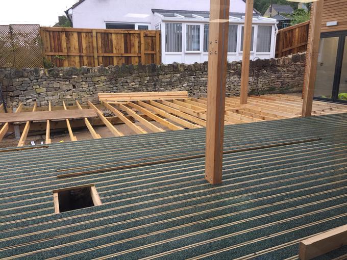 Decking taking shape