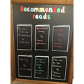 Teacher recommended reads.