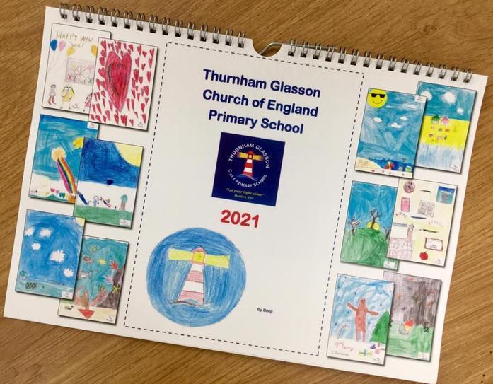 Our new 2021 School Calendar!