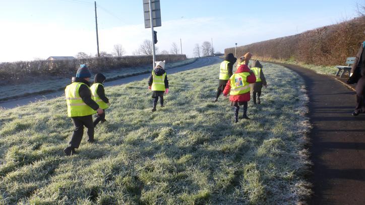 Class 1 Winter Walk January 2019