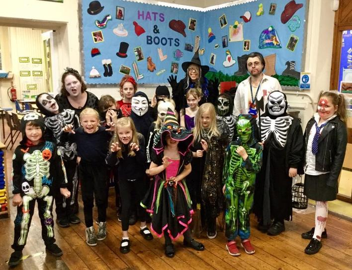 Spooky Dress-up Day, October 2020