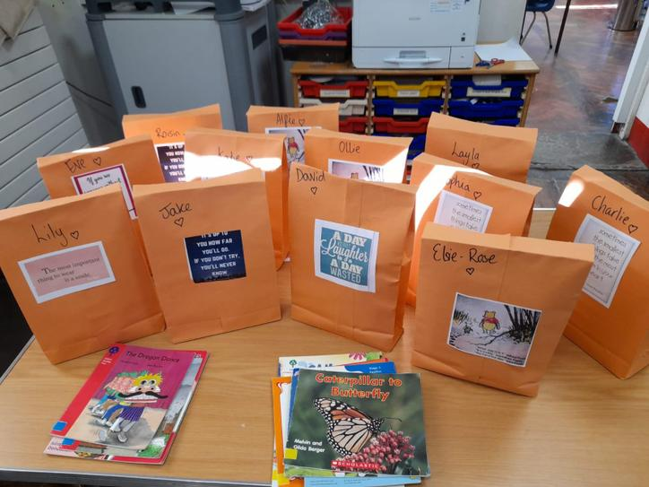 Half-Term care packages for all of the children!