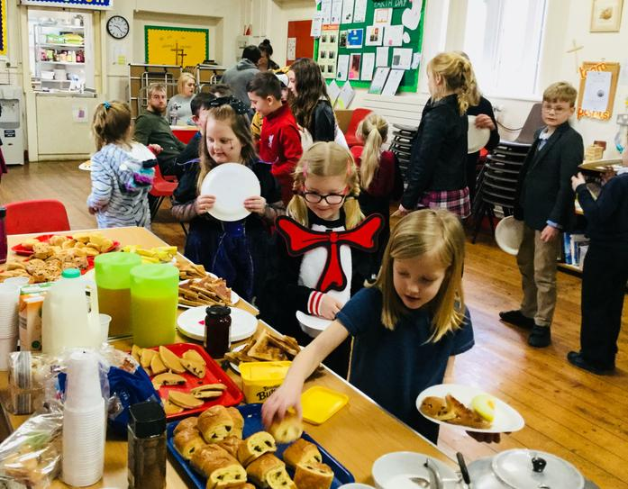 World Book Day Breakfast March 2019