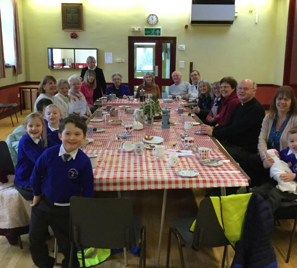 Class 1 at the Church Coffee Morning January 2020