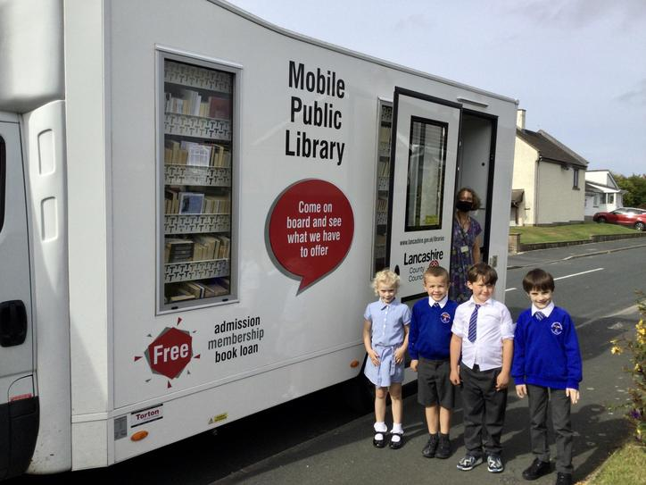 The Mobile Library van is back! September 2021