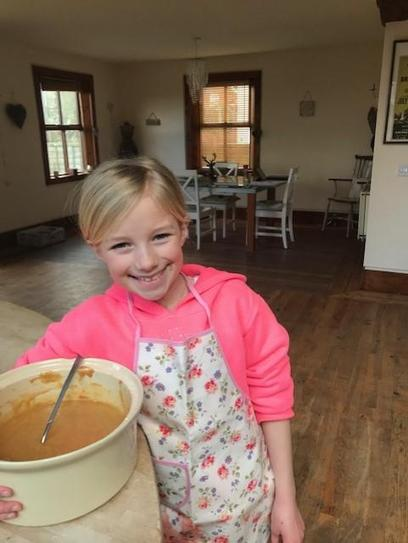 Baking Carrot Cake