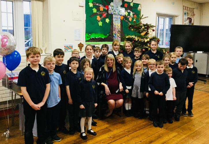 Mrs Duncan leaves us to have a baby December 2018