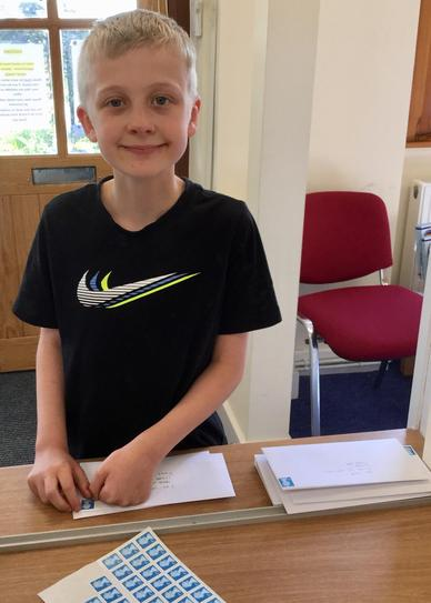 Earth Day - sending letters to Cat Smith MP
