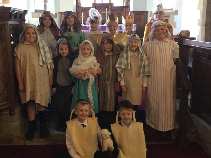 The Nativity in Church December 2020