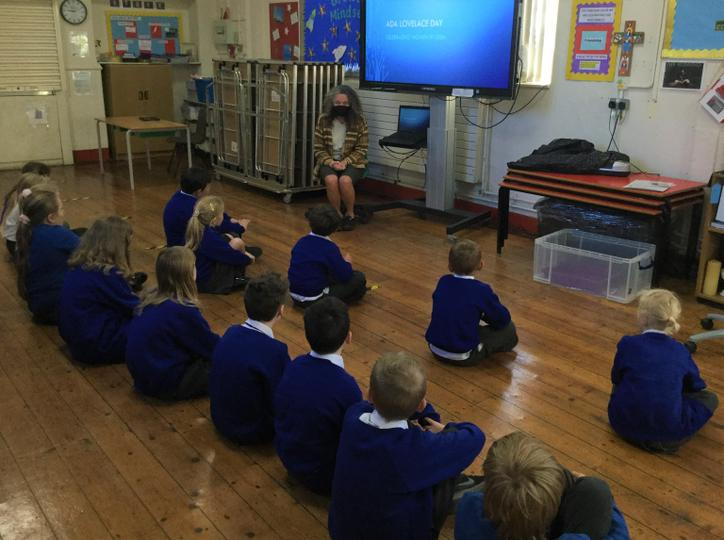 Visit from Dr Sue Pope (Mathematics), October 2020