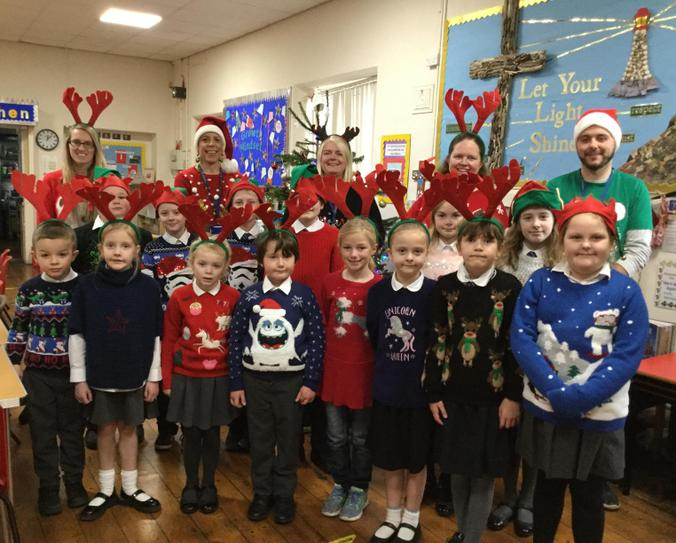 Our School Family at Christmas
