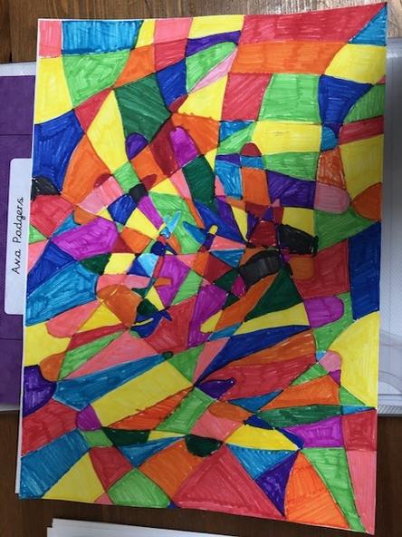 A beautiful pattern by Ava.