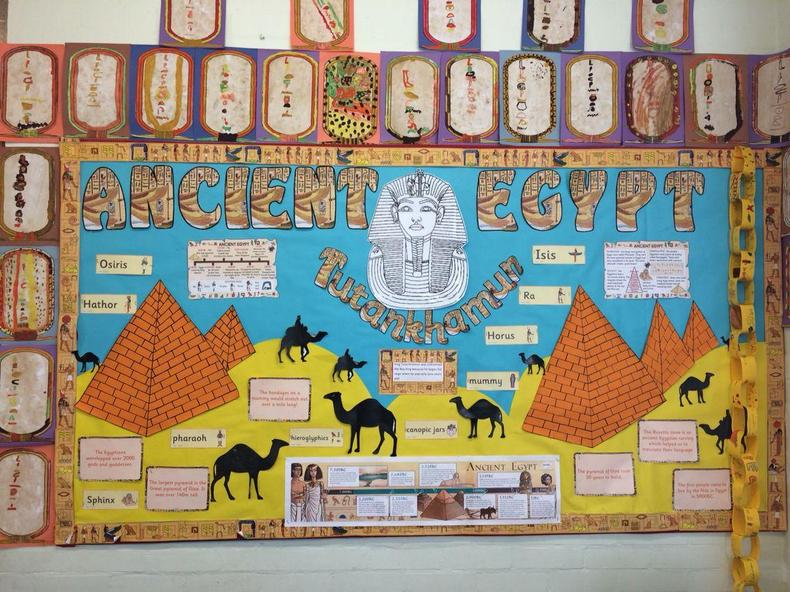 Miss Kaur's pyramid display