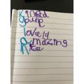 Kylan's amazing  acrostic poem