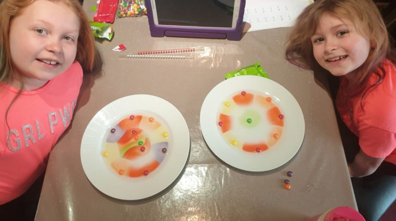 Skittle patterns. Well done!