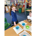 Look at our science work!