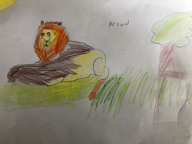 A super lion by Arlind.