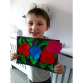Joshua's lovely flowers picture